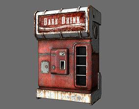 cold drink dispenser machine 3D model