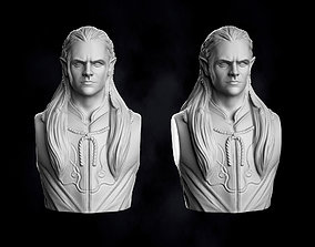 3D print model Legolas Fanart Bust
