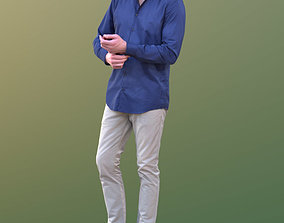 Lars 10438 - Standing Business Man 3D model