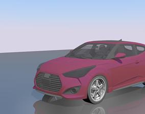 3D asset Hyundai Veloster