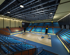 basketball stadium 3D
