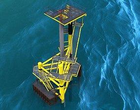 Medium deck caisson concept 3D