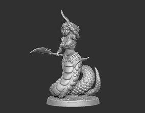 3D printable model Naga Character