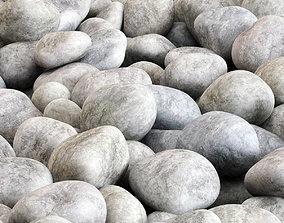 3D Pebble gray