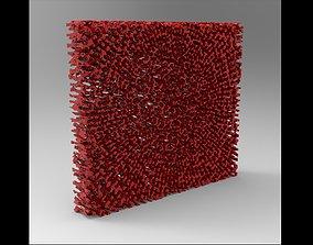 ECHINODERM Spine Center Tissue Scientific 3D model 1