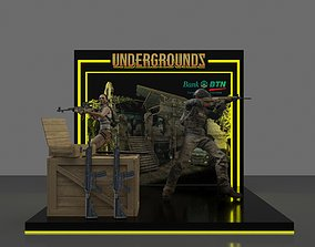 3D Booth 3x3