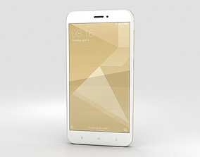 3D Xiaomi Redmi 4X Gold