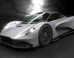 3D Aston Martin Valhalla