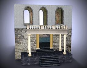 Bathhouse statue 3D