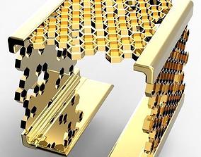 3D print model Square Bracelet Hive