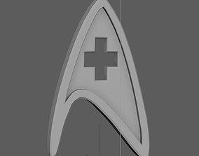 3D printable model Badge of medical service from Star Trek