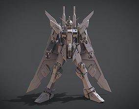 3D print model Gundam Infinitive Justice mecha