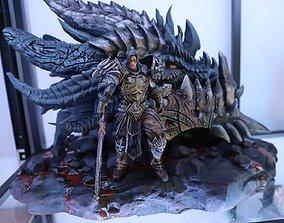 Fan Art - Varian Wrynn and Deathwing 3D printable model