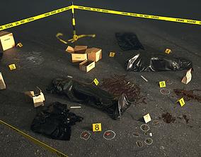 Crime Scene Assets 3D model