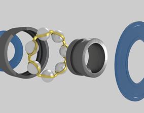 Ball Bearing 3D asset