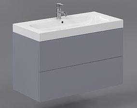 3D model Washbasin faucet