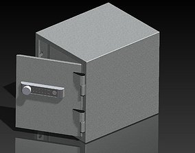Yale Personal Safe - Silver 3D model
