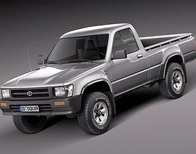 Toyota Hilux Pickup regular cab 1989-1997 3D