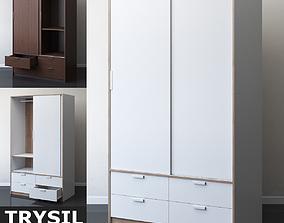 IKEA TRYSIL Wardrobe with sliding doors 3D