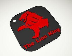 3D print model Lion king Keychain