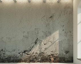 3D model Concrete wall Old concrete 13
