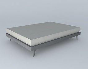Bed 140 CHILDREN SIXTIES 3D model