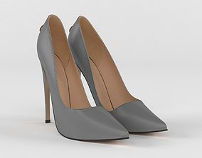 Womens Pointy Toe High Heels Slip 3D