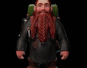 3D printable model Dwarven Adventurer - Glod Glodson