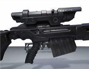 3D printable model Sniper Rifle