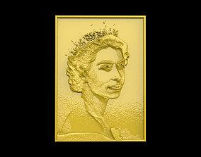 3D print model Queen Elizabeth II