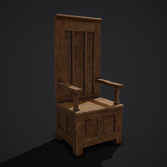 Medieval Royal Chair