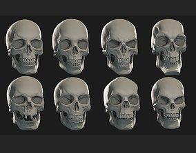 Skulls sculpt pack 3D