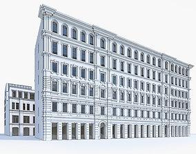 Apartment Buildings 05 3D asset