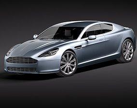 3D Aston Martin Rapide 2011