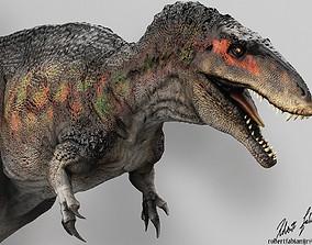 3D Acrocanthosaurus