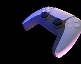 3D model PS5 Controller