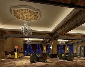 Business Restaurant - Coffee - Banquet 91 3D model