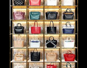 3D model Women bags shop