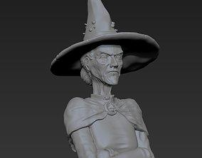 Granny Weatherwax - Discworld - 3D print ready esmerelda