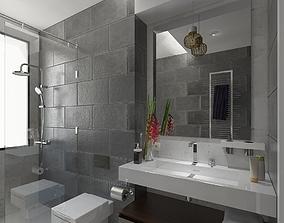 3D model bathroom accesorie