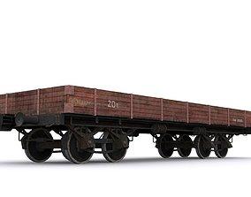 railway carriage 3D model
