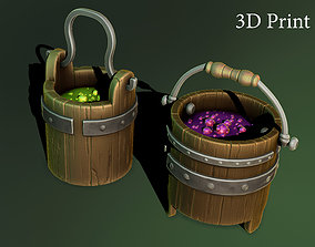 3D print model witch bucket