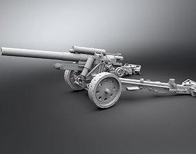 sFh 18 howitzer Scale model