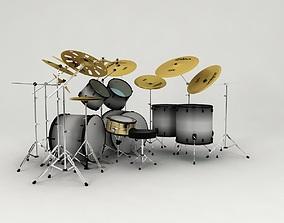 drums kit 3D