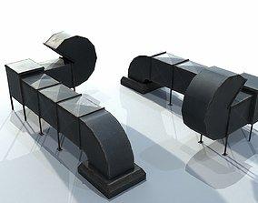 3D asset Air Duct Set