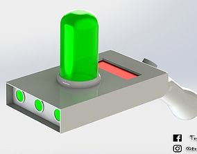 Portal Gun Rick and Morty portalgun 3D printable model 4