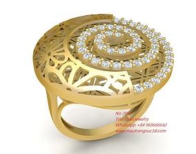 3D printable model 2037 Diamond Special Ring