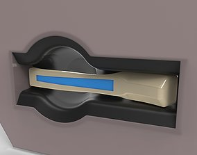 3D print model Inside Door Handle