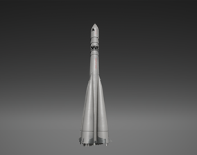 Rocket Vostok 1 3D model