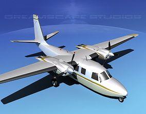 Rockwell Aero Commander 560 V05 3D